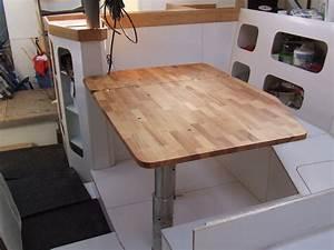 Plan De Travail Carré : une table pour notre carr la gal re de pierre et c cile ~ Melissatoandfro.com Idées de Décoration