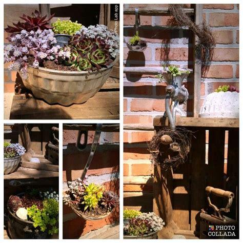 Alte Kuchenform Dekorieren by Backform Beton Deko Obstkiste Sukkulente Lovely Garden