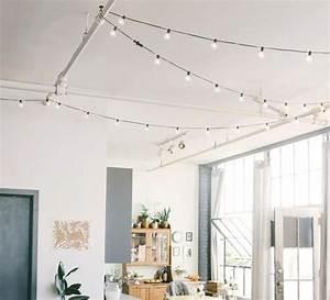 Guirlande Lumineuse Salon : guirlande lumineuse function noir l8 4m led house doctor luminaires nedgis ~ Melissatoandfro.com Idées de Décoration