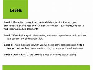 How To Write A Technical Specification Example