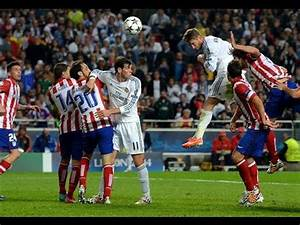 UCL Final Real Madrid vs Atletico Madrid (4-1) Sergio ...  Real