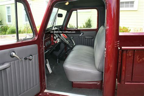 willys jeep interior 1955 willys pickup truck 4wd paint interior some