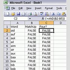 Three Letter Words  Daily Dose Of Excel