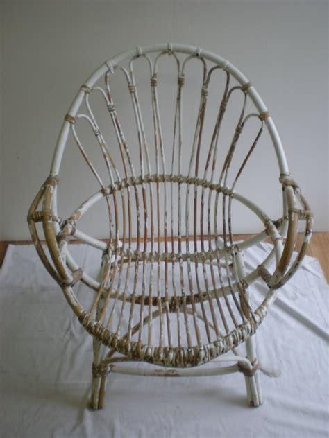 commode et fauteuil en rotin nature cama 239 eu relooking