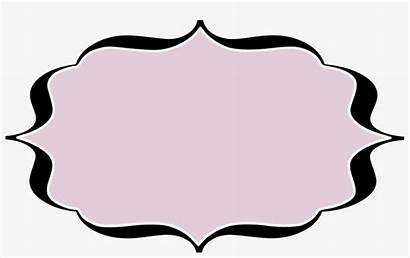 Blank Labels Template Svg Fancy Grey Example