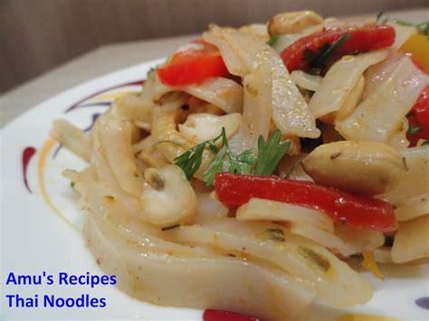 thai noodle recipe amu s recipes thai noodles