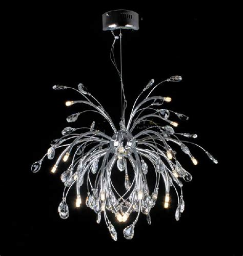ac110 220v led modern chrome chandelier light fixtures