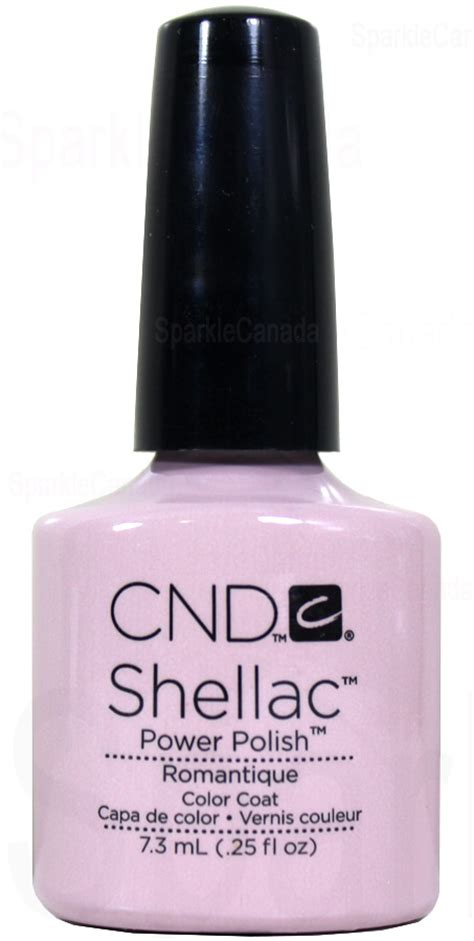 cnd shellac romantique  cnd shellac   sparkle