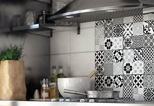 stickers carrelage cuisine leroy merlin With pochoir salle de bain