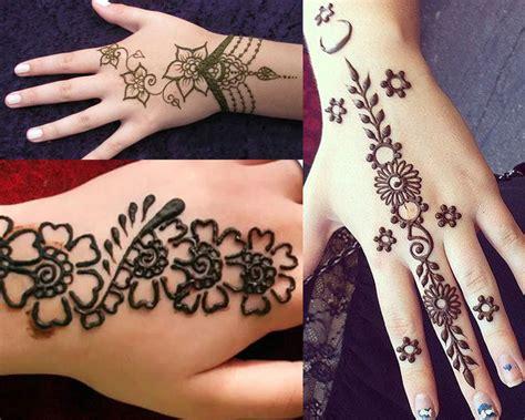 top  simple mehndi designs  hands