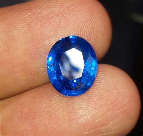 Batu Cincin Blue Safir Menawan jual batu blue safir blue srilanka harga murah di