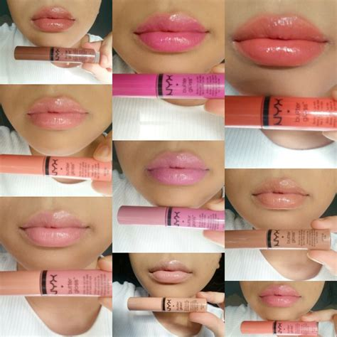 Lipgloss Nyx nyx butter gloss swatches review makeup