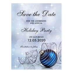 christmas and holiday party save the date template postcard zazzle