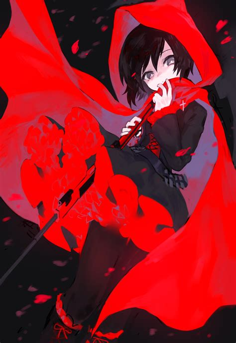 ruby rose rwby fanart ruby rose rwby image 2130139 zerochan anime image board