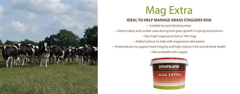 Mag Extra  Ideal To Help Manage Grass Staggers Risk