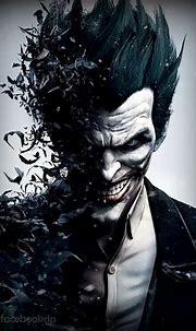 evil fb dp 2014 | Joker arkham, Batman poster, Joker poster