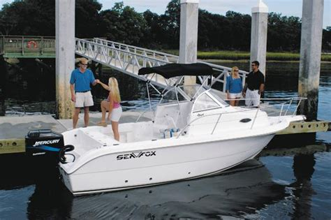 Used Sea Fox 210 Wa Boats For Sale by 2004 Used Sea Fox 210 Walk Around Saltwater Fishing Boat