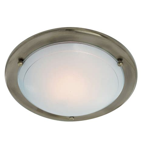 searchlight 702ab jupiter flush 1 light ceiling fitting