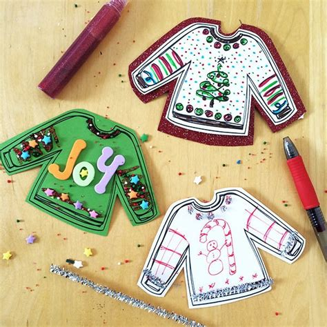 ugly sweaters printable   ugly sweater party  directions
