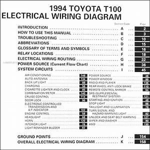 2007 Toyota Ta Pickup Wiring Diagram Manual Original
