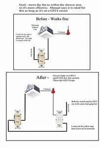 Bathroom Fan And Light On Same Circuit  U2022 Cabinet Ideas