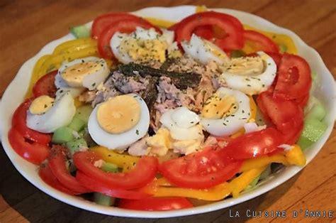 cuisine nicoise recettes recette salade composée d 39 été la cuisine familiale un