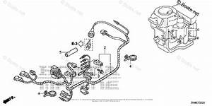Honda Outboard Parts By Hp  U0026 Serial Range 9 9hp Oem Parts Diagram For Wire Harness