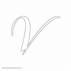 Pin Cursive V But Is Imprint White Oval Newest First ...
