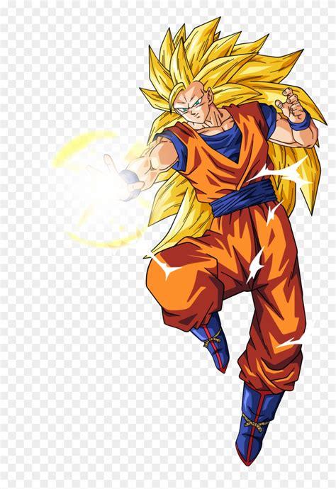 Dragon ball z / cast Goku Saiyan - Dragon Ball Z Characters Goku Super Saiyan 3 Clipart (#2269130) - PikPng