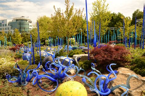 chihuly garden and glass museum in seattle thousand