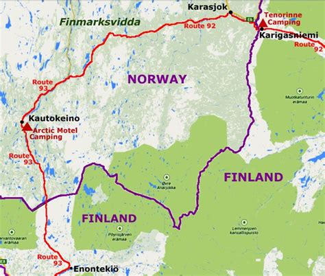 Finland to Norway - Karasjok and Kautokeino
