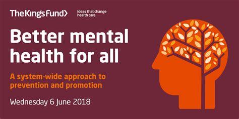 mental health    kings fund