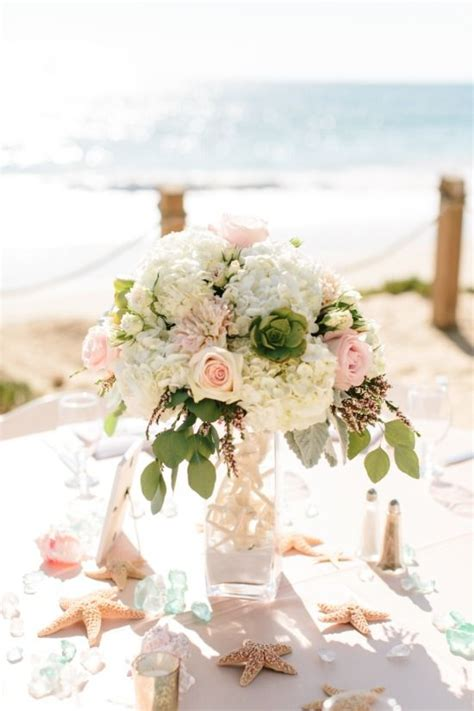pink  white beach wedding  crystal cove weddings