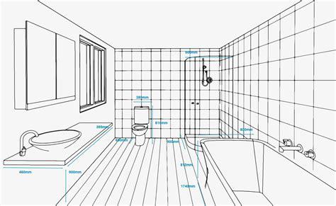 Kitchen Fixtures Standard Dimensions by Standard Bathroom Measurements Refresh Renovations