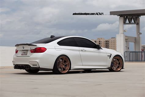 White Bmw Rims by Alpine White Bmw F82 M4 Adv06r M V2 Cs Wheels Adv 1 Wheels