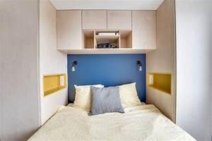 Tete De Lit Bois Clair : appartement paris 11 une r novation sur mesure pour une famille c t maison ~ Teatrodelosmanantiales.com Idées de Décoration