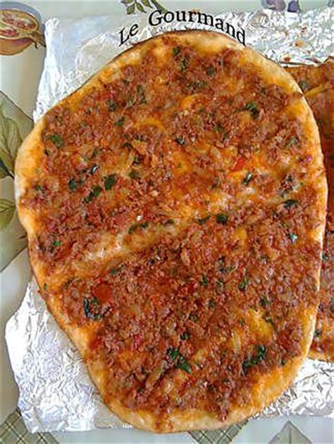 recettes de cuisine turque recette de lahmacun pizza turque par legourmand25