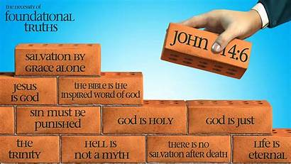 Foundation Christ Christian Solid Firm Bible God