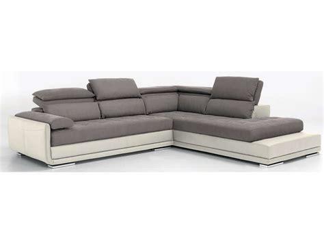 canap conforama gris canapé d 39 angle fixe droit 5 places ulysse coloris gris
