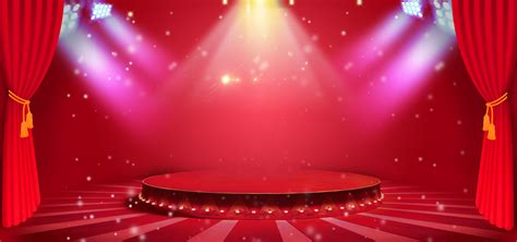 atmospheric stage lighting background stage show