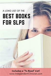 "Best Books for SchLanguage Pathologists (+ Downloadable ""To Read"" List  The Independent"