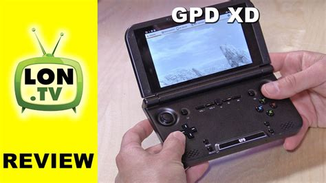 handheld emulator console gpd xd android portable console review with ips
