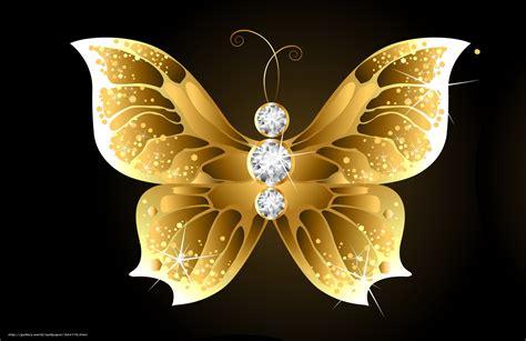 wallpaper pebbles gold butterfly black
