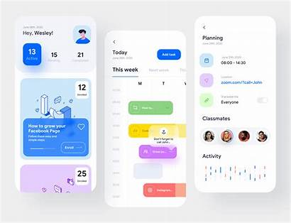 Course Ui App Inspiration Dribbble Gillde Weekly