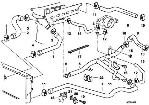 bmw m52 vacuum diagram bmw auto parts catalog and diagram