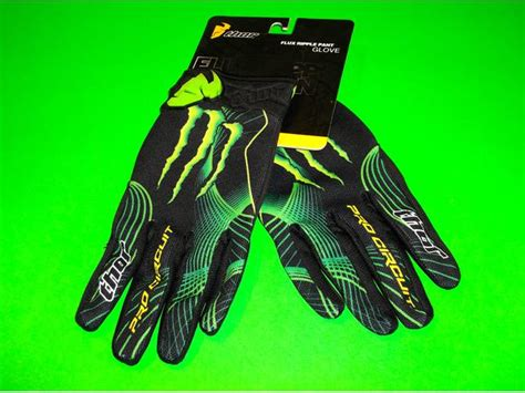monster energy motocross gloves pro circuit thor mx monster energy motocross atv quad dirt