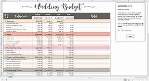 printable wedding budget excel template savvy spreadsheets With budget wedding videos