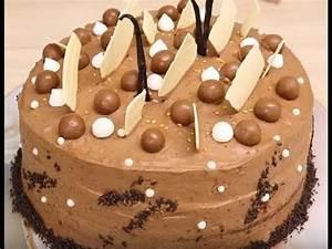 Image De Gateau D Anniversaire : g teau d 39 anniversaire a la mousse au chocolat facile ~ Melissatoandfro.com Idées de Décoration