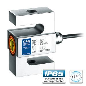 cas sba s type load cell cas load cells auckland nz