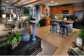 Flooring Ideas For Living Room And Kitchen by 70 39 S Open Floor Plan Remodel Open Kitchen Floor Plan Designs I 39 Ll